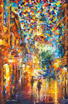 The Confeti Of The City by Leonid Afremov