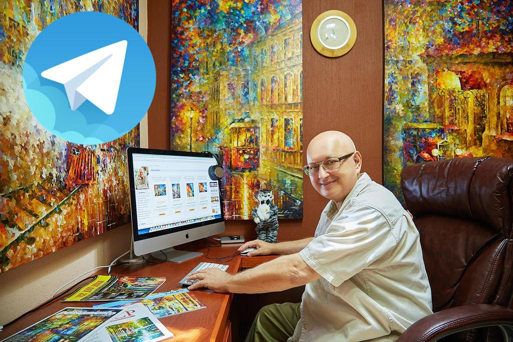 Telegram channel by Leonidafremov on DeviantArt