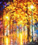 Autumn Trees by Leonid Afremov