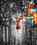 Rain Princess  Limited edition giclee