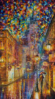 The Night Of Reality by Leonid Afremov