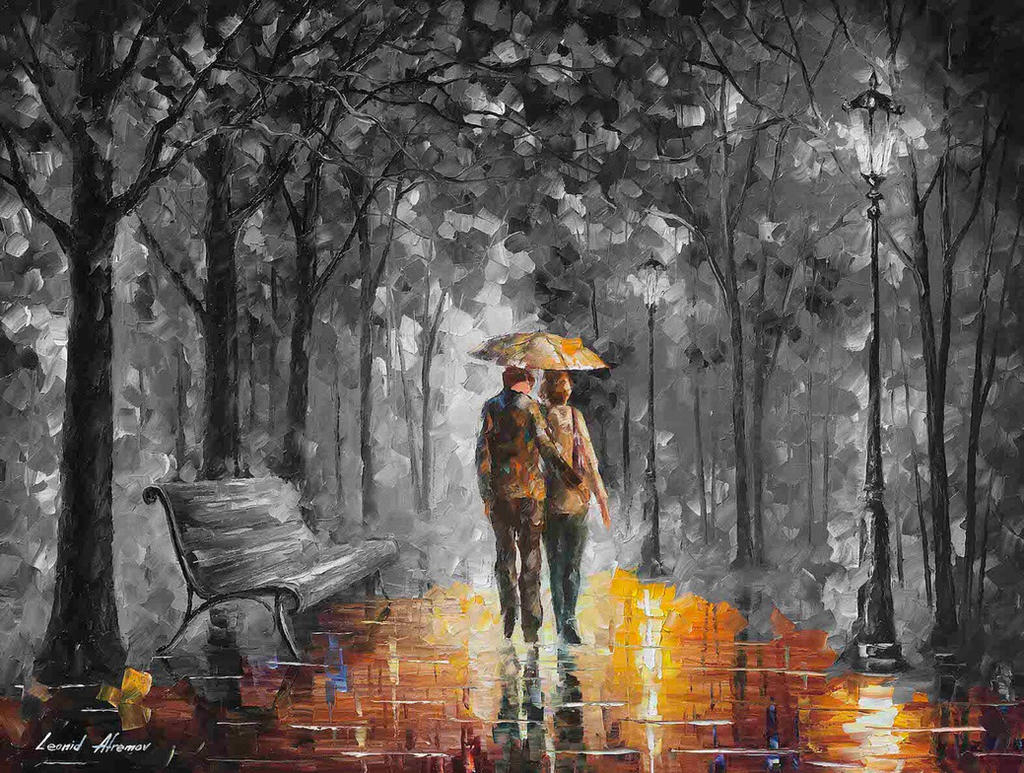 The light of Love - Limited edition giclee by Leonidafremov