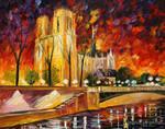 Paris Of My Dream by Leonid Afremov