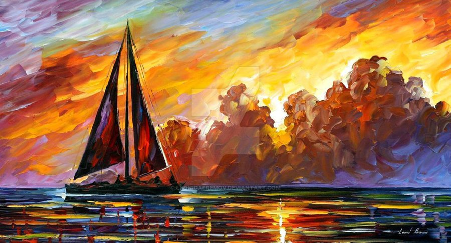 Things To Add To Oil Paints When Painting A Sunset