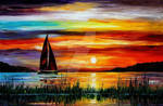 Florida Lake Okeechobee by Leonid Afremov