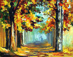 Old Woods by Leonid Afremov