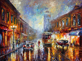 Los Angeles 1920 by Leonid Afremov