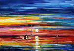 Lovely Sunset by Leonid Afremov