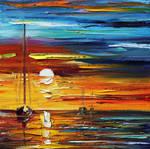 Sunset Of Feelings by Leonid Afremov