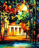 Spirit Of The Night by Leonid Afremov by Leonidafremov