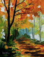 The Sun of September by Leonid Afremov by Leonidafremov