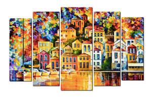 CITY OF THE DREAM set by Leonid Afremov
