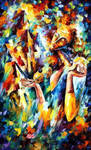 Sweet Dreams by Leonid Afremov