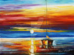 Fire In The Sky by Leonid Afremov