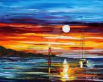 Far Seas by Leonid Afremov