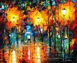 Night Mood by Leonid Afremov