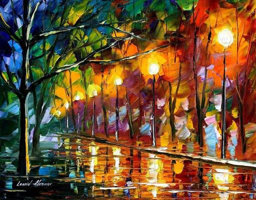 Impression by Leonid Afremov