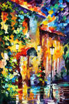 Living Town by Leonid Afremov