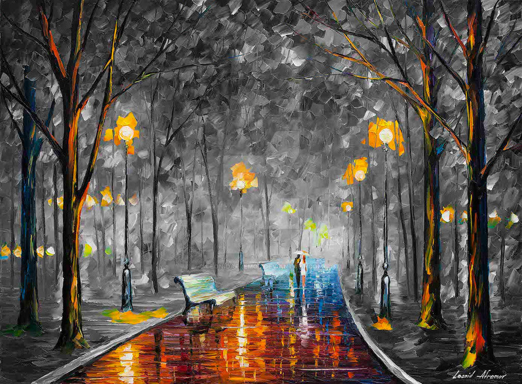 MISTY MOOD 2 Limited edition giclee by Leonidafremov