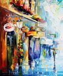 Downtown Stroll by Leonid Afremov