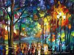 The Return Of Night by Leonid Afremov