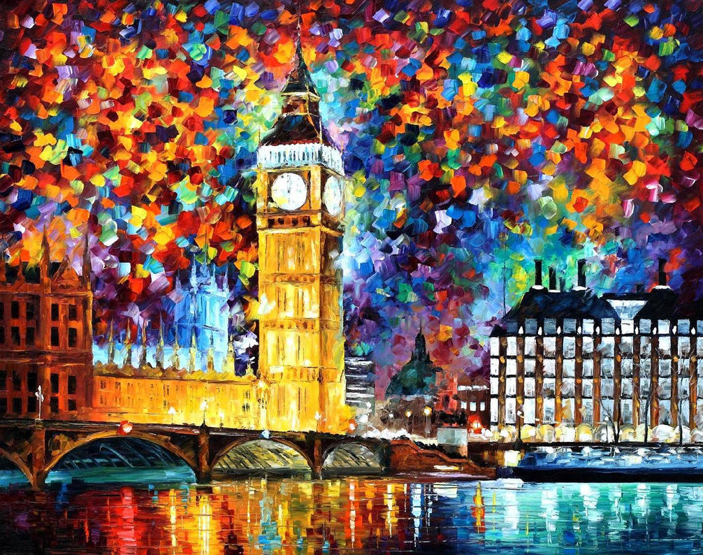 Big Ben London 2012 by Leonidafremov