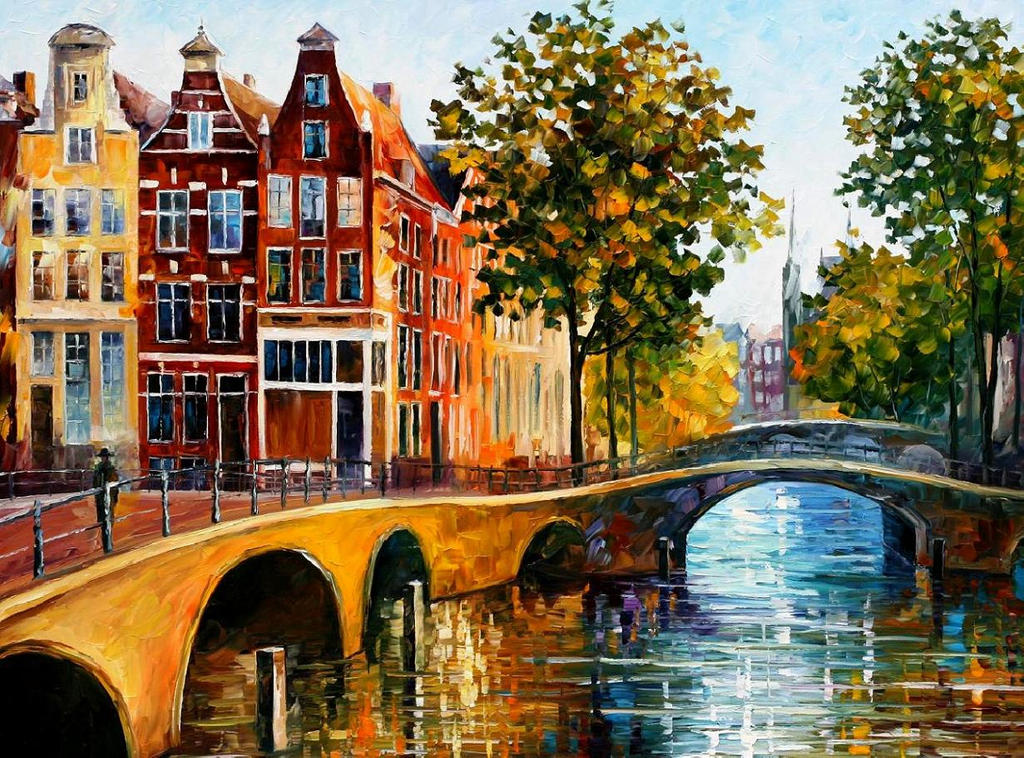The Gateway To Amsterdam by Leonidafremov