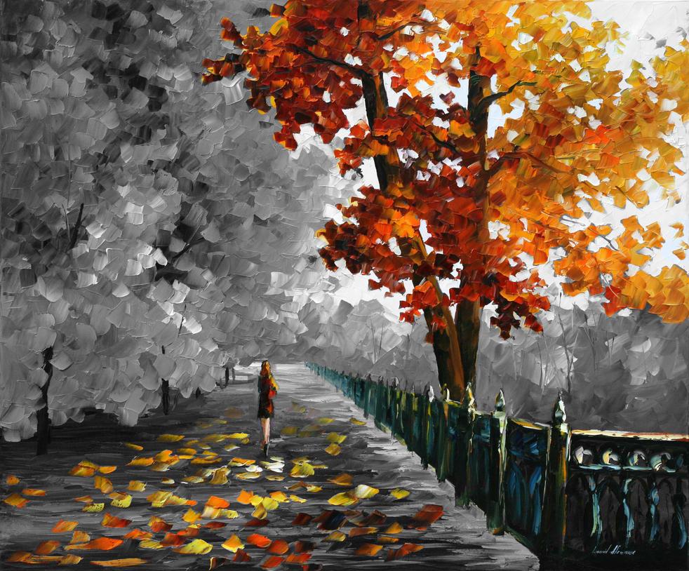 Fall Colors - Mixed Media by Leonidafremov