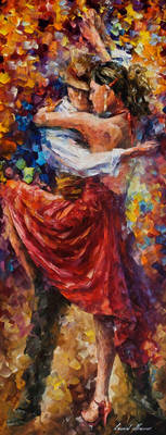 Tango of Movement by Leonid Afremov