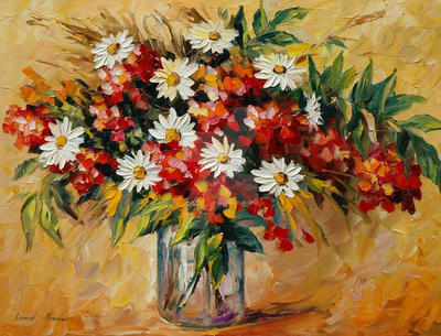Wildflowers by Leonid Afremov by Leonidafremov