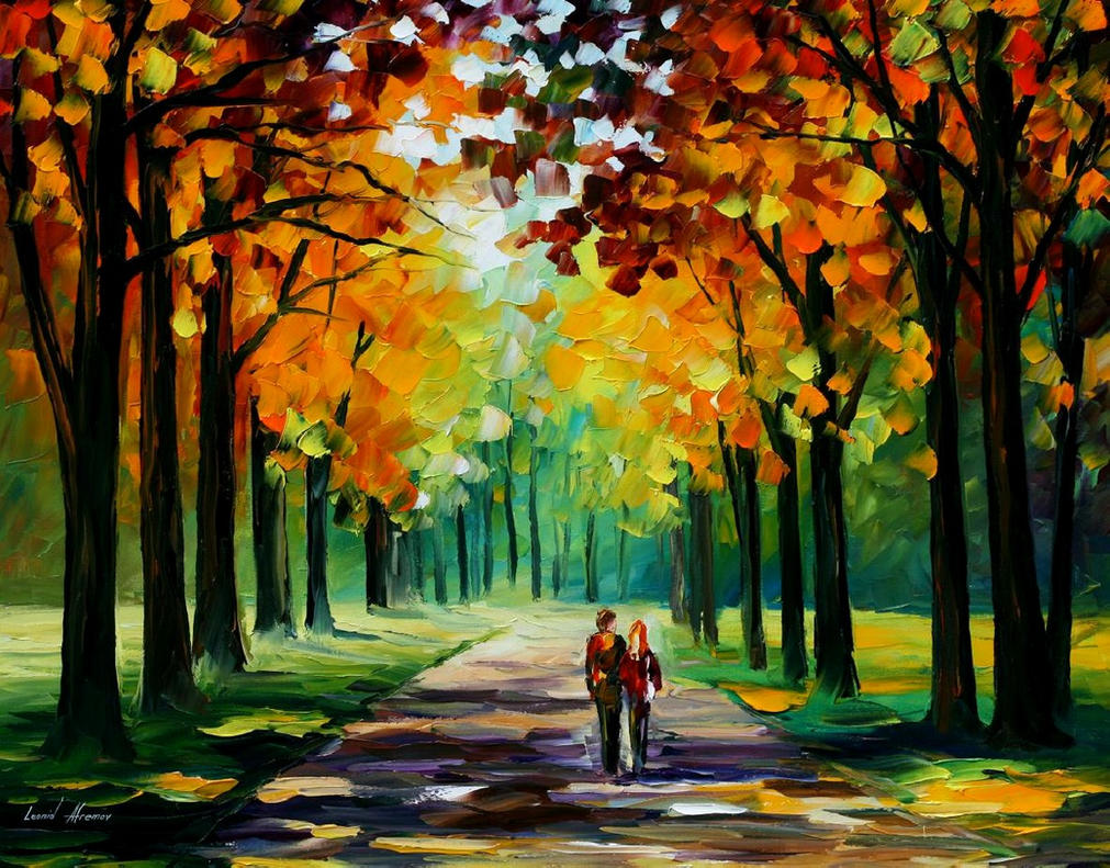 Sunny Autumn by Leonidafremov