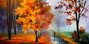 Walk In The Park by Leonid Afremov