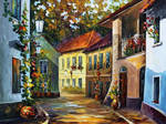 Hot Noon by Leonid Afremov
