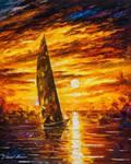 Fast Sail by Leonid Afremov
