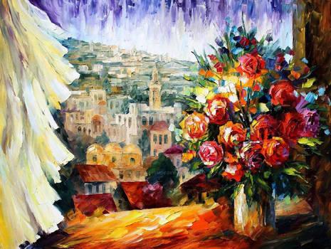 Flowers Of Jerusalem by Leonid Afremov