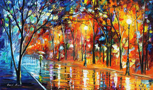 Recollection Of The Past by Leonid Afremov