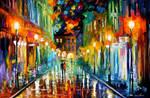 Romantic Evening by Leonid Afremov