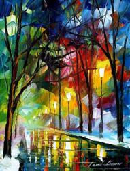 Reflections by Leonid Afremov