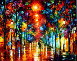 Line Of Light by Leonid Afremov