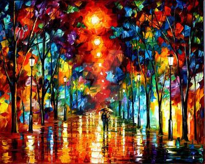 Line Of Light by Leonid Afremov by Leonidafremov