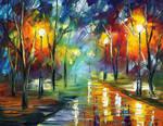 Loving Night by Leonid Afremov