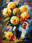 Symbol Of My Love by Leonid Afremov