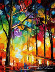 Drizzle by Leonid Afremov