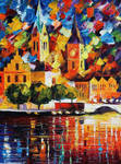 Dark Town by Leonid Afremov