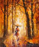 Reasons For Rain by Leonid Afremov