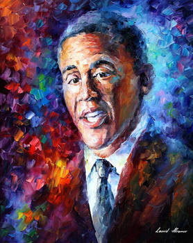 Barack Obama by Leonid Afremov