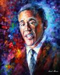 Barack Obama by Leonid Afremov