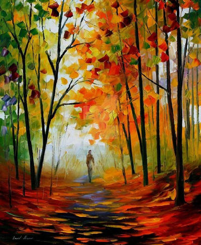 Melody Of Autumn by Leonidafremov