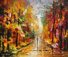 After The Rain by Leonid Afremov by Leonidafremov
