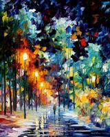 Romantic Winter by Leonidafremov